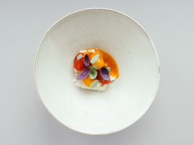 Food photography for Michelin star restaurant