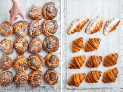 croissant photography
