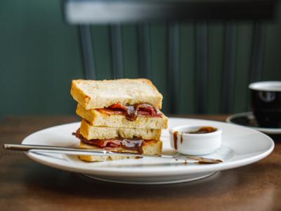 Restaurant Photography - bacon sandwich