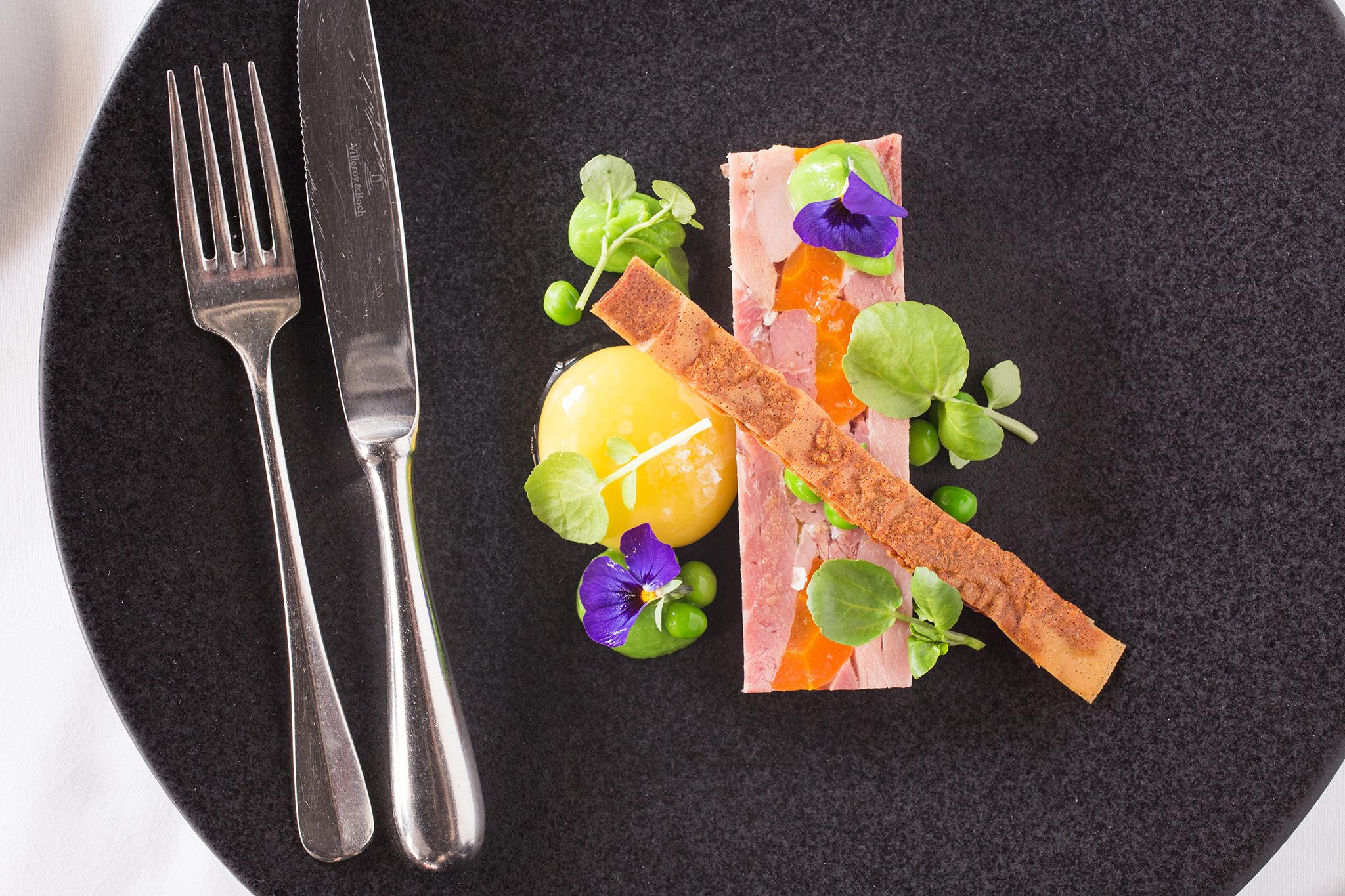 food photography for Turners restaurant Birmingham